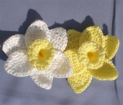 Daffodils of Spring Free Crochet Pattern