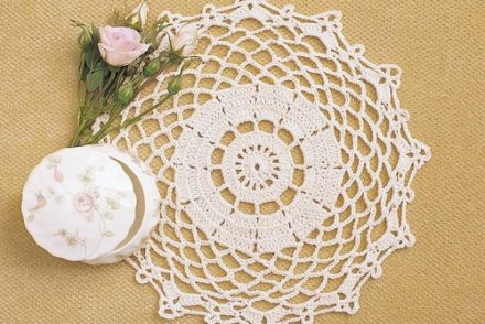 Dainty Doily Free Crochet Pattern