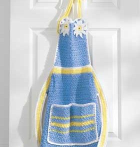 Daisy Apron Free Crochet Pattern