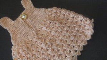 Darling Baby Girl Dress Free Crochet Pattern