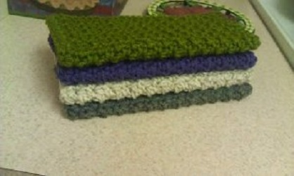 Durable Dish Cloths Free Crochet Pattern