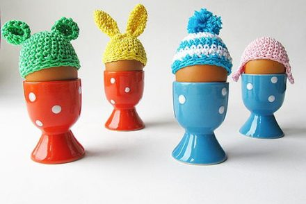 Easter Egg Beanie Free Crochet Pattern
