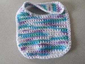 Easy Baby Bib Free Crochet Pattern
