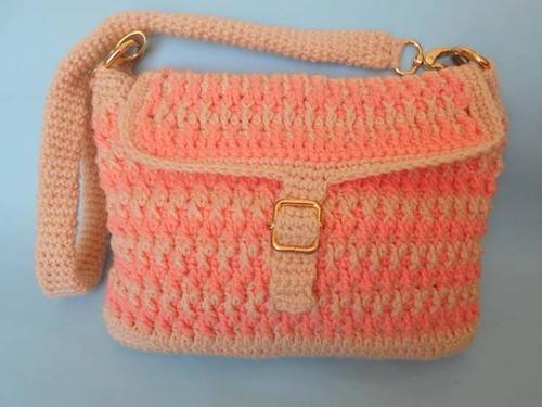 Easy Handmade Bag Free Crochet Pattern
