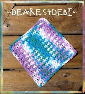 Easy Peasy Dishcloth Free Crochet Pattern