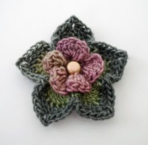 Enchanted Forest Flower Free Crochet Pattern