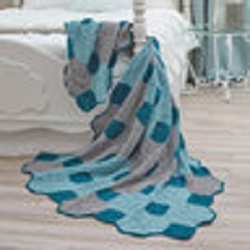 Evening Breeze Throw Free Crochet Pattern