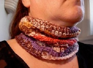 Fall Neck Warmer Free Crochet Pattern