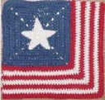 Fallen Hero Granny Square Free Crochet Pattern