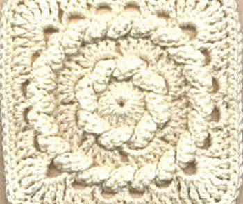 Fisherman's Ring Granny Square Free Crochet Pattern