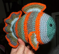 Freddie Fish Free Crochet Pattern