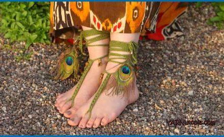 Free-Spirit Barefoot Sandals Free Crochet Pattern