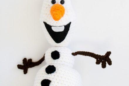 Frozen Snowman Amigurumi Free Crochet Pattern