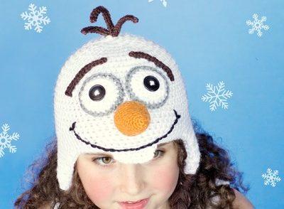 Frozen Snowman Hat Free Crochet Pattern