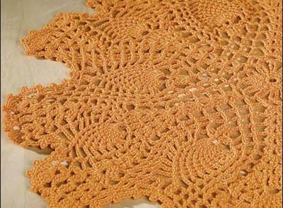 Give Thanks Doily Free Crochet Pattern