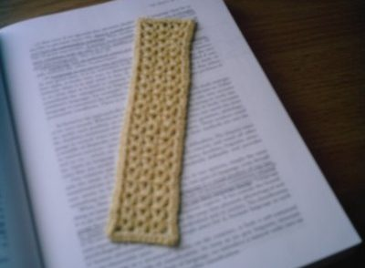 Goddess Blessed Bookmark Free Crochet Pattern
