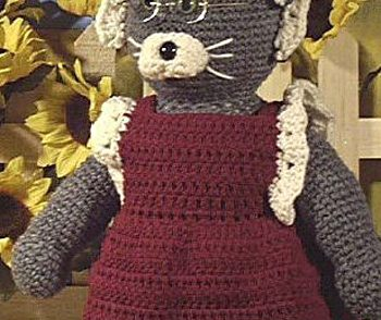Granny Cat Free Crochet Pattern