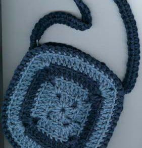 Granny Handbag Free Crochet Pattern
