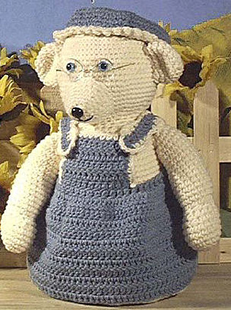 Granny Mouse Free Crochet Pattern