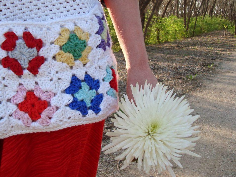 Granny's Market Apron Free Crochet Pattern