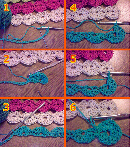 Happy Circles Table Runner Free Crochet Pattern Craft Ideas For