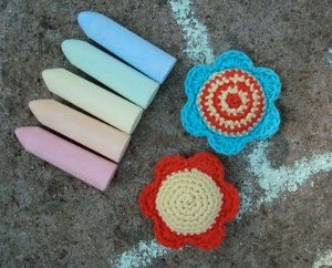 Happy Day Hopscotch Bags Free Crochet Pattern