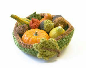 Harvest Bowl Free Crochet Pattern
