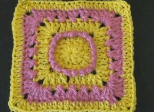 Hazy Day Granny Square Free Crochet Pattern
