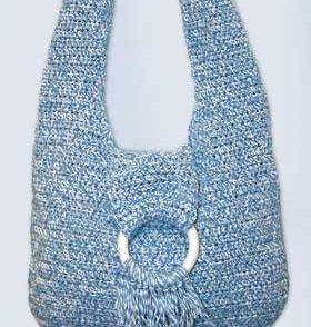 Hip Hobo Bag Free Crochet Pattern