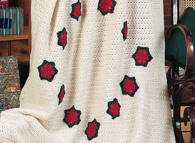 Holiday Star Afghan Free Crochet Pattern