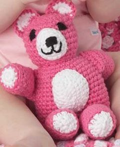 Huggable Teddy Toy Free Crochet Pattern