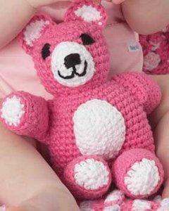 Huggable Teddy Toy Free Crochet Pattern