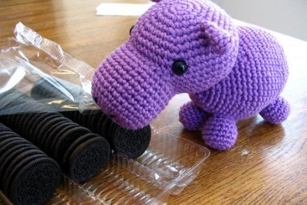 Hungry Hippo Free Crochet Pattern