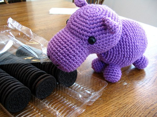 Hungry Hippo Free Crochet Pattern