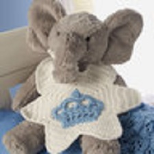 I'm the Prince Baby Bib Free Crochet Pattern