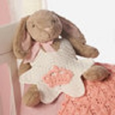 I'm the Princess Baby Bib Free Crochet Pattern