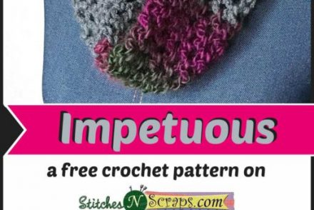 Impetuous Scarf Free Crochet Pattern
