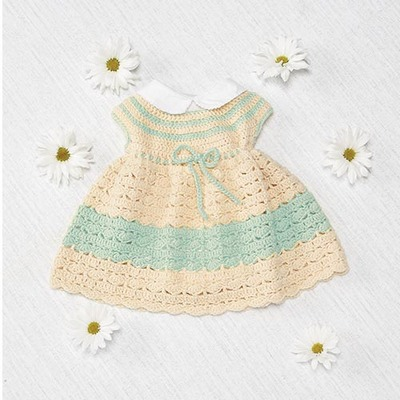 Infant Dress Free Crochet Pattern - Craft ideas for adults ...