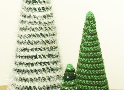 Insanely Fast and Easy Christmas Trees Free Crochet Pattern