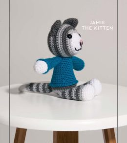 Jamie the Kitten Free Crochet Pattern