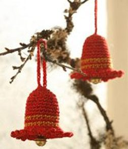 Jingle Bell Ornaments Free Crochet Pattern