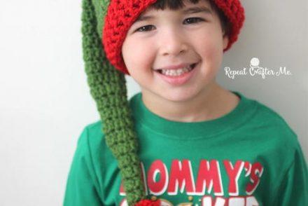 Jolly Elf Hat Free Crochet Pattern