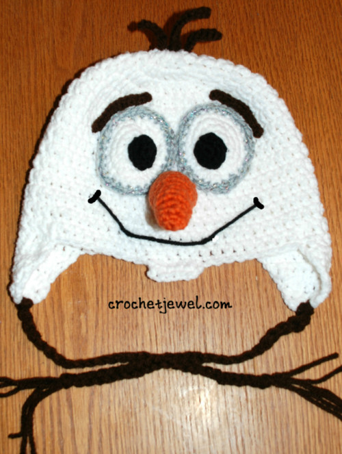 Kids Favorite Snowman Hat Free Crochet Pattern Craft Ideas For
