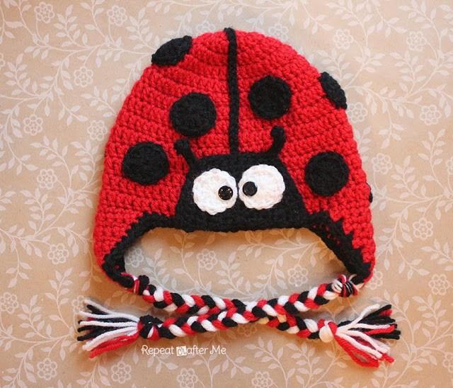 Ladybug Hat Free Crochet Pattern
