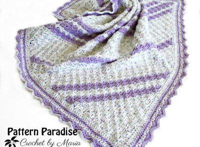 Lavender Baby Blanket Free Crochet Pattern