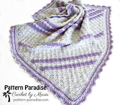 Lavender Baby Blanket Free Crochet Pattern Craft Ideas