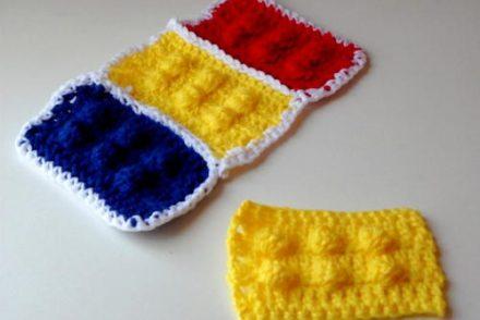 Lego Block Free Crochet Pattern