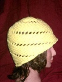 Lemon Twist Hat Free Crochet Pattern