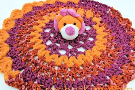 Lion Comfort Toy Free Crochet Pattern