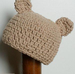 Little Bear Hat Free Crochet Pattern